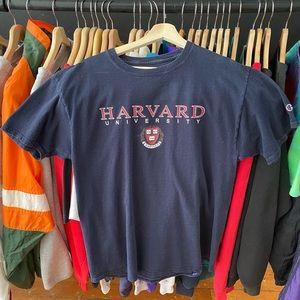 Harvard University Champion T-Shirt Size L…